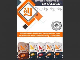Catálogo estucos y adhesivos EY